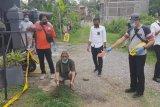 Seorang pria tewas terbentur palang kayu gulungan benang layang-layang