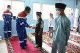 Sebelum TA dimulai, Pertamina Dumai doa bersama dan serahkan santunan