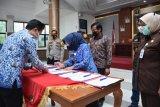 KPU dan Pemkab Gowa menandatangani pakta integritas pilkada bermartabat