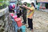 Desa Lumajang Wonosobo ajak warga disiplin cuci tangan