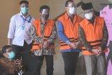 Tiga mantan pimpinan DPRD segera disidang terkait kasus suap pengesahan RAPBD