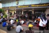 Polisi Amankan Pelajar Di Perbatasan Tangerang - Jakarta