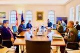 Menteri Pertahanan RI Prabowo Subianto berkunjung ke Austria