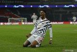 Gol Marcus Rashford jelang pertandingan usai antar MU pecundangi PSG 2-1