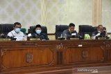 Tujuh fraksi DPRD Agam sampaikan pandangan umum terkait Ranperda RAPBD 2021