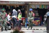 31 warga disanksi langgar protokol COVID-19 di perbatasan Palu - Sigi