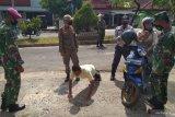 Razia masker di jalan protokol Kota Bandarlampung