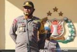 Kapolres Palu kembali ingatkan personelnya kerja maksimal jelang pilkada