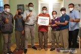 Pertamina salurkan Rp470 juta bantu pangkalan LPG di Pangkalpinang