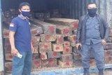 Berkas perkara158 kayu hitam olahan ilegal dilimpahkan  ke Kejari Kendari