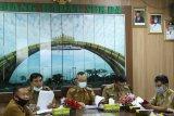 Pj Sekda Pringsewu pimpin monitoring dan evaluasi MCP KPK RI