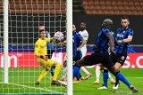 Dwigol Romelu Lukaku amankan hasil imbang 2-2 Inter saat lawan Gladbach