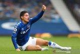Cedera betis, James Rodriguez tidak perkuat Everton lawan Chelsea