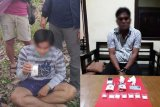 Polda Kalimantan Tengah tangkap dua warga miliki sabu-sabu 136 gram