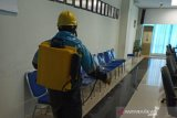 Pelindo Dumai disinfeksi empat kelurahan cegah COVID-19