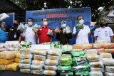 BNN musnahkan ratusan kilogram sabu dan ekstasi hasil sebelas pengungkapan