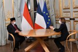 Menhan RI-Menhan Prancis pererat kerja sama sektor pertahanan