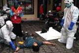 PMI DIY melatih relawan tangani jenazah COVID-19