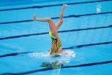 Venue akuatik Olimpiade Tokyo resmi dibuka