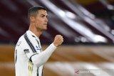 Bintang Juventus Cristiano Ronaldo dinyatakan negatif COVID-19