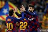 Gerard Pique sarankan nama Lionel Messi dipakai untuk stadion Camp Nou baru