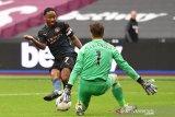 Manchester City bermain imbang dengan West Ham
