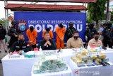 Akhir pengabdian Perwira Polda Riau, disebut penghianat karena terlibat Sabu 16 kg