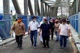 Pemkab Barut uji beban Jembatan Muara Teweh - Jingah