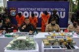 Dalam dua pekan 36 kg sabu-sabu disita polisi di Riau