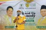 Cara Golkar kritik kebijakan pemerintah lewat lomba komedi di Kota Surabaya