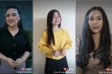Aura kasih dan Vicky Shu bagikan pengalaman dan tips menyanyi lewat platform video