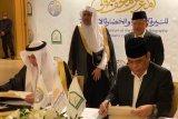 Naskah kerja sama pembangunan Museum Sejarah Rasulullah SAW ditandatangani