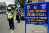 Polisi tilang belasan pengendara hari pertama Operasi Zebra di Palu