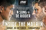 Singapura jadi saksi perebutan empat juara dunia  ONE Championship