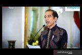Presiden Jokowi: UU Cipta Kerja jadi jalan reformasi struktural bagi UMKM