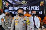 Polres Subang tangkap enam pelaku pencuri sarang walet