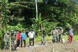 Satgas TMMD 109  bantu warga tanam jagung