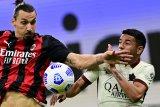 Laju AC Milan dihentikan AS Roma lewat drama enam gol