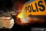 2 butir peluru tembus perut seorang polisi di Medan