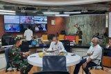 Pangdam Jaya sambangi Kantor Berita Antara bahas Indonesia Optimistis