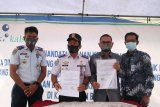 Bank Kalsel - Dishub Banjar kerja sama permudah pembayaran retribusi KIR