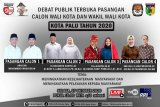 Empat pasang calon wali kota Palu  ungkap cara atasi COVID-19