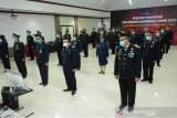 Kanwil Kemenkumham Sulsel ikuti upacara HKDK 2020 secara virtual