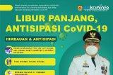 Imbau masyarakat mematuhi protokol kesehatan selama libur panjang