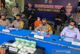 Polisi tembak pembawa sabu-sabu 7,3 kg lintas pulau  masuk ke Palu