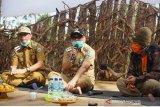Wabup Bantaeng apresiasi pemuda Ulu Ere gelar KBK di masa pandemi