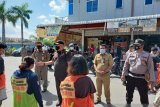 Kemarin 93 warga Batam terjaring razia masker