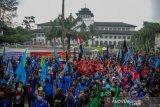 Aksi Buruh Di Bandung
