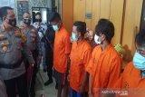 Empat pencuri ditangkap di Palangka Raya dalam sepekan
