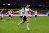 Sundulan Son Heung-min bawa Tottenham Hotspur raih kemenangan 1-0 atas Burnley